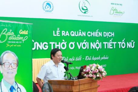"""Bảo Xuân cùng Hội phụ sản VN phát động chiến dịch """"Đừng thờ ơ với nội tiết tố nữ"""""""
