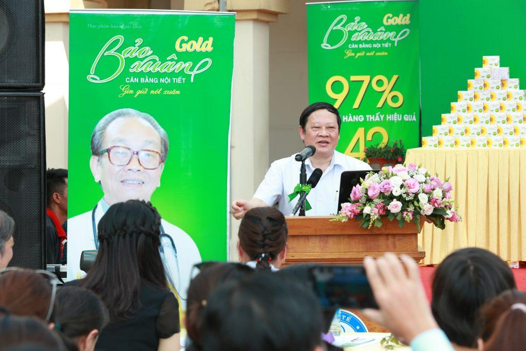 GS Nguyễn Viết Tiến -Thứ trưởng Bộ Y tế, Chủ tịch Hội phụ sản Việt Nam